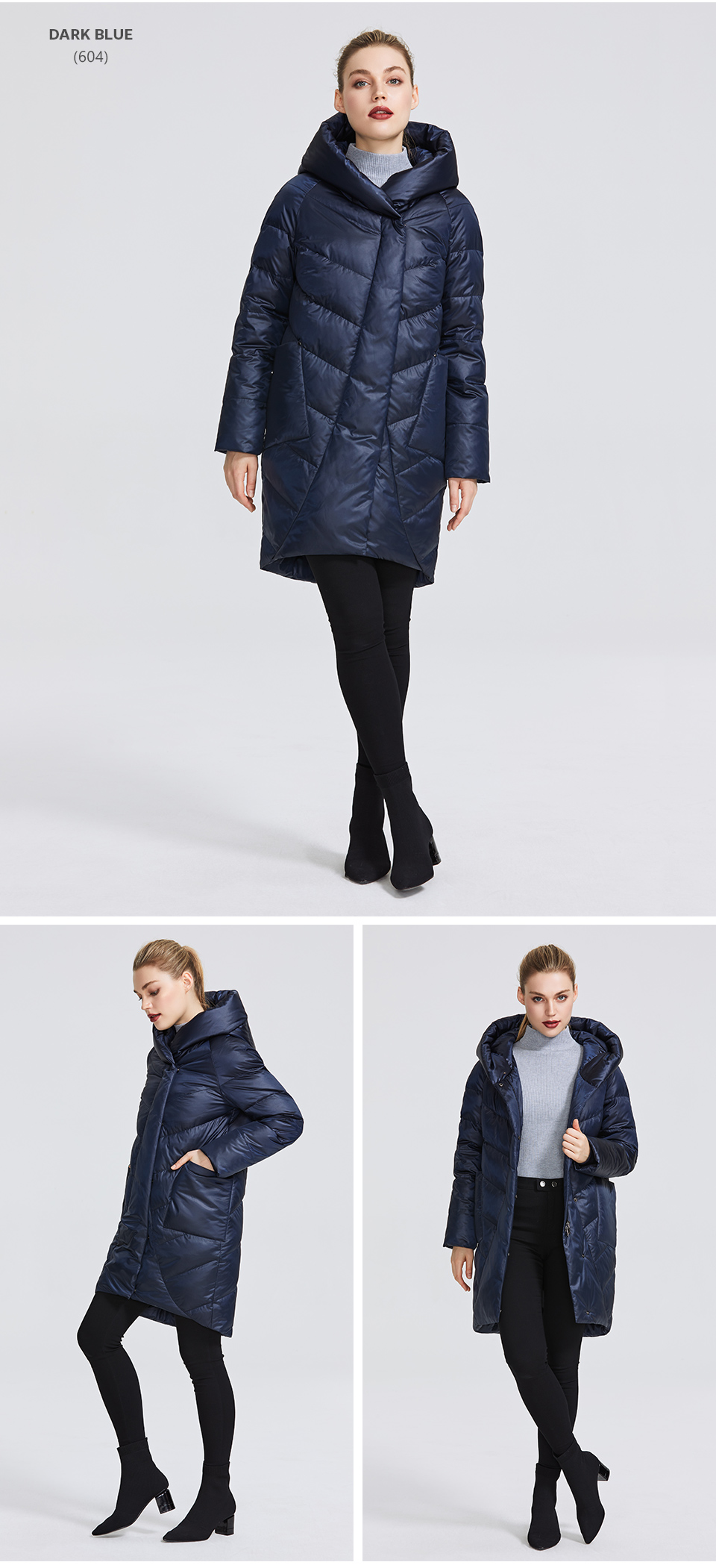 MIEGOFCE 19 Winter Jacket Women's Collection Warm Jacket With Unusual Design and Colors Winter Coats Gives Charm and Elegance 8