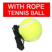 Tennis Balls Cricket Training Palline Sporting Goods Partner Rebound Practice Tennis With Elastic Rope Rubber Ball For Beginner