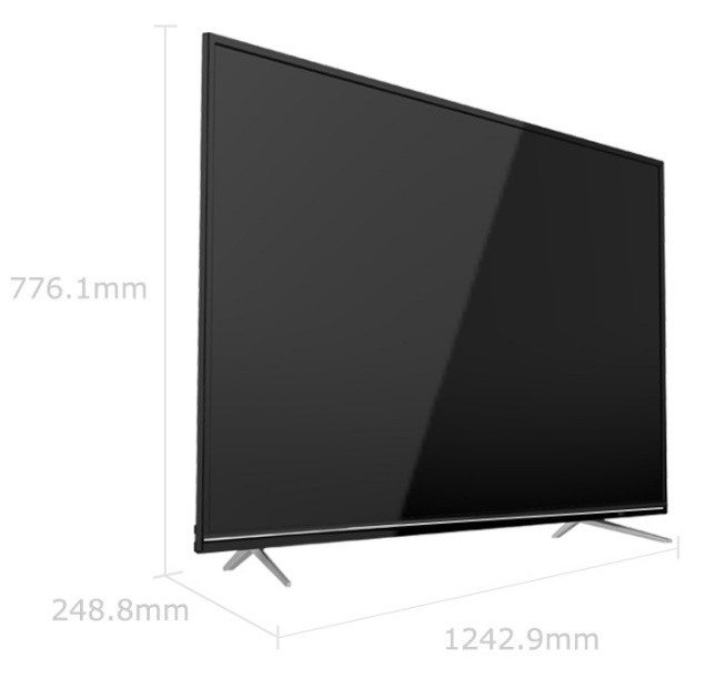 Big Monitor screen 50 55 65 inch ultra slim android television wifi led TV 1.5GB RAM 8GB ROM smart television TV