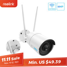 Reolink 4MP Wifi Camera Ip-Cam Night-Vision Security Weatherproof Outdoor-2.4g/5g Wireless