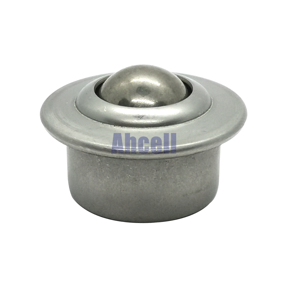 JINLI-CASE Wheels 5PCS//LOT CY-12a 12mm Ball Bearing Roller Full Carbon Steel Flange Ball Transfer Unit Furniture Caster Wheel Conveyor Rollers
