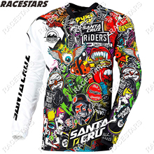 Motocross Jersey BMX Mountain-Bike DH Mtb-Downhill Maillot-Ciclismo Quick-Drying Hombre