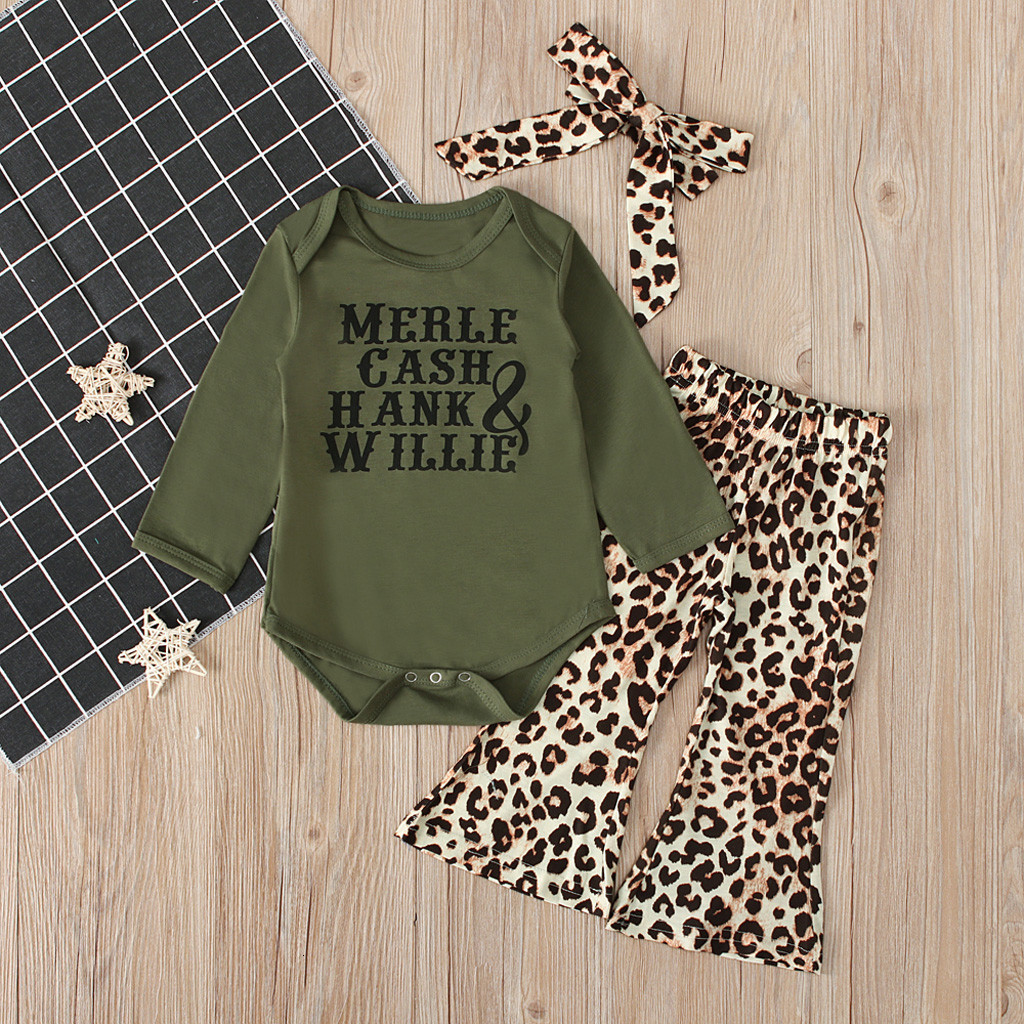 Womola Newborn Baby Girl Summer Clothes Long Sleeve Letters Romper Floral Shorts Pants Outfit Sets