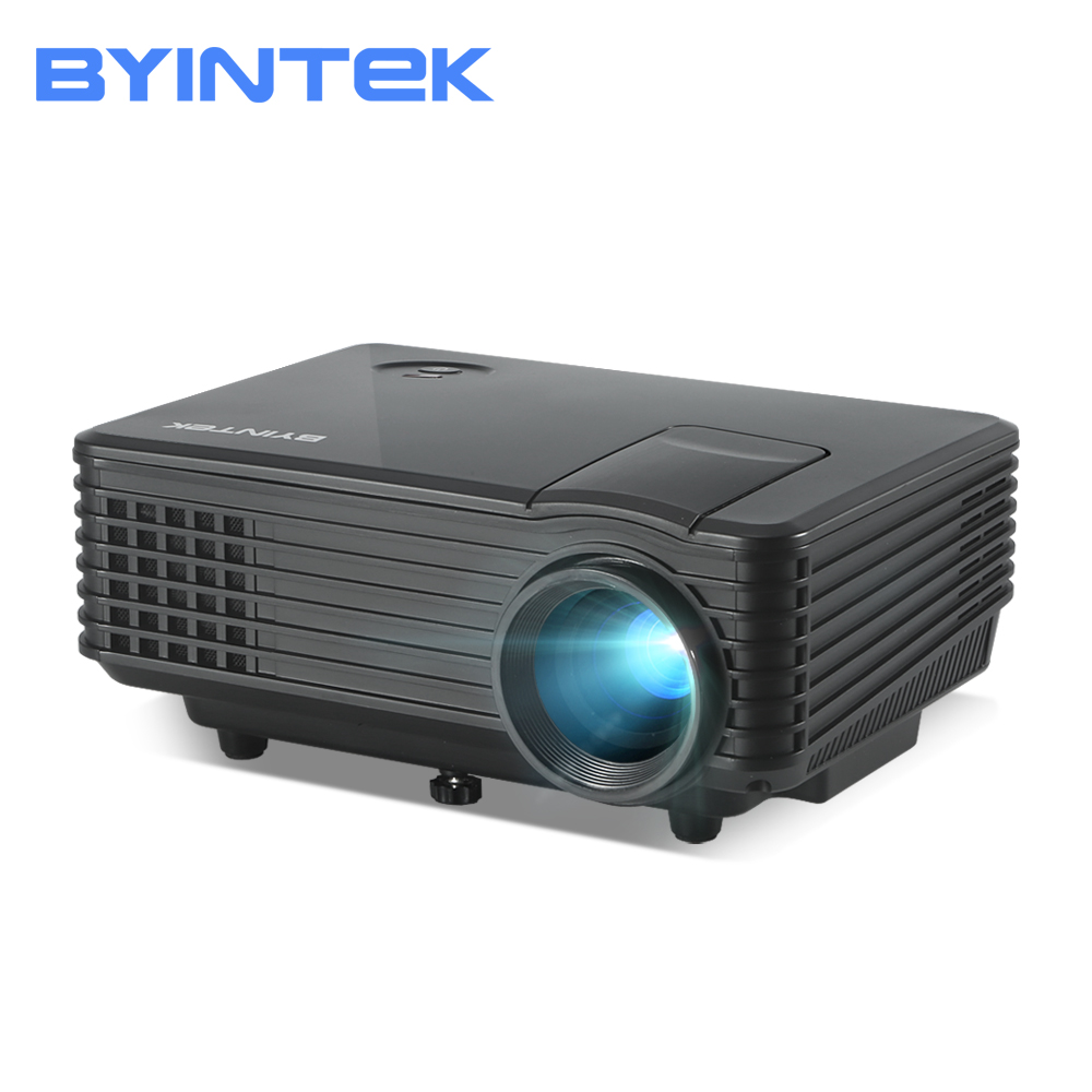 BYINTEK SKY Y2 Home Theater Mini LED Portable Video HD LCD Projector Beamer Proyector with HD USB Support 1080P luces led de policía