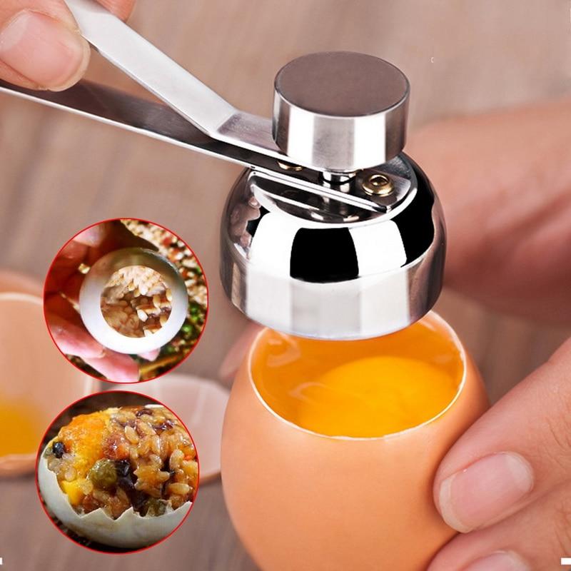 Food - Stainless Steel Egg Shell Knocker