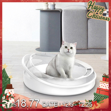 Sand-Box Pet-Tray Toilet Cats-Litter-Box Home-Supplies Kitten Plastic Anti-Splash CT901