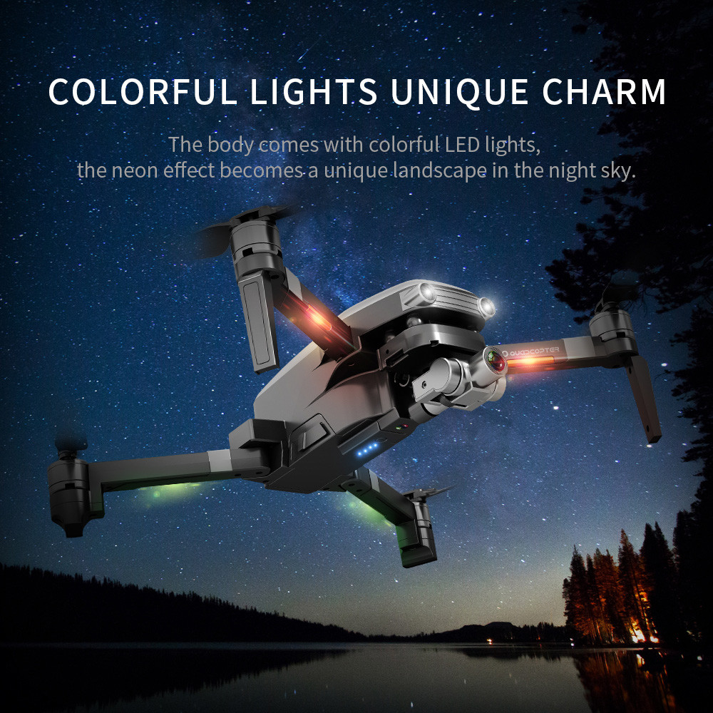 Aircraft - L109PRO GPS Drone 4K Quadcopter HD ESC Camera Brushless 5G WiFi FPV HD ESC Camera Brushless Helicopter Long Flight Time
