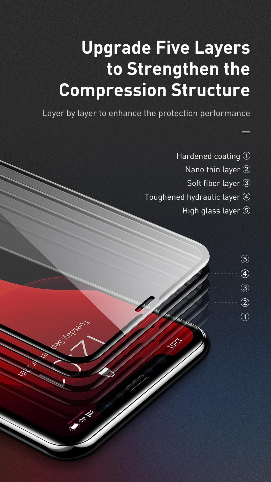 Tempered glass for iphone xi max xir (7)