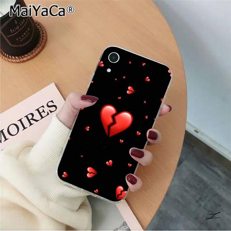 background fluorescent Neon loser red heart