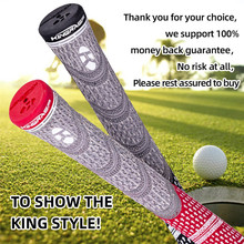 Golf-Grips Rubber Shock-Absorbing Your-Swing Consistency Wear-Resisting Improves High-Quality