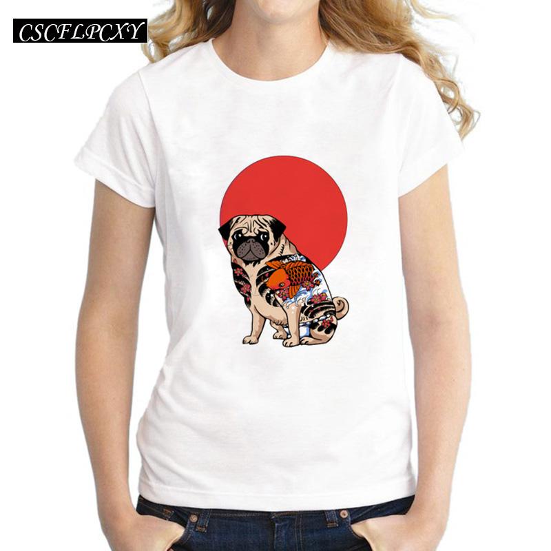 cartoon-tattoo-pug-women-t-shirt-short-sleeve-casual-lady-tops-Fashion-Yakuza-Pug-hipster-printed.jpg_640x640
