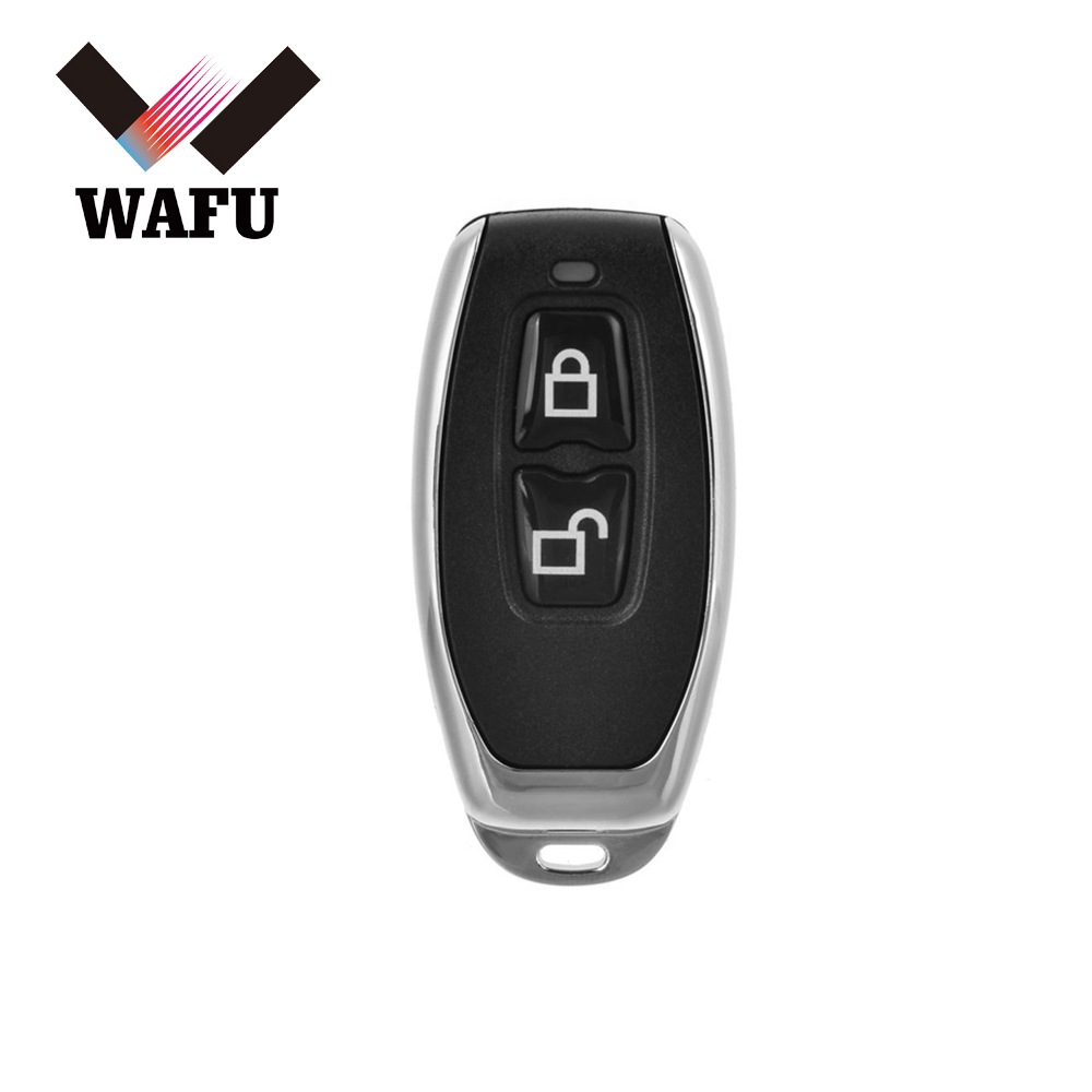 Door-Lock Remote-Control-Key Smart-Key WAFU 433mhz Wireless for Wf-018/Wf-008/Invisible title=