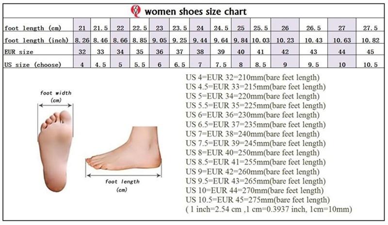 OK size chart