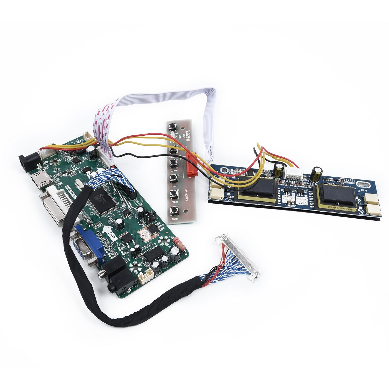 """Driver Controller Board Kit for 1280X1024 17/""""//19/"""" LCD M170E5-L09 HDMI+DVI+VGA"""