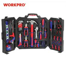 Screwdrivers-Pliers Hammer Knife 77pc-Tool-Set Household-Tool-Kits WORKPRO Home-Repair
