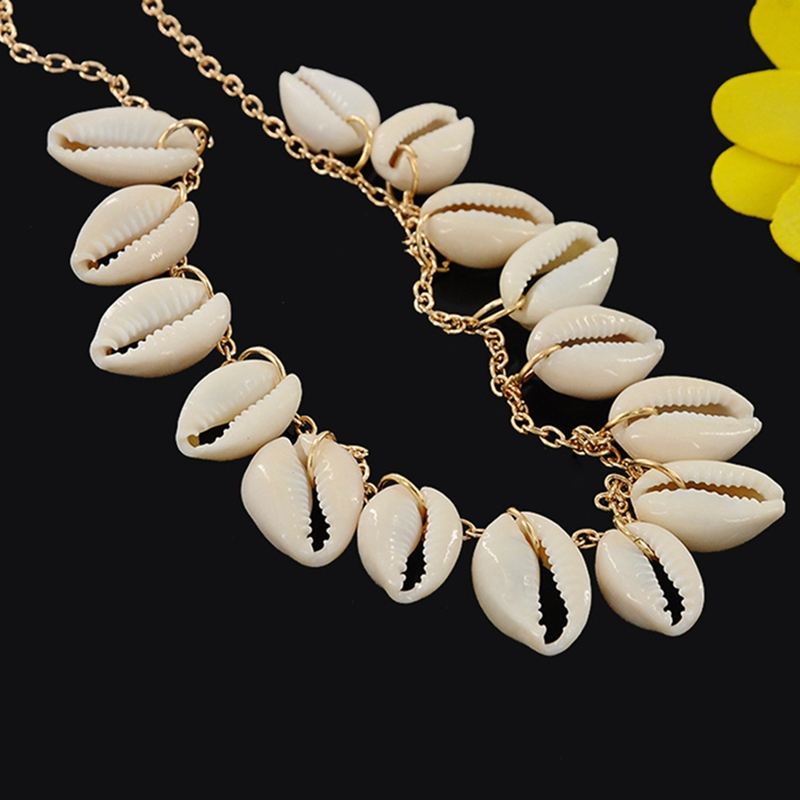 Bohemia Shell Belly Chain For Women Wild Thin Belt Waist Summer Beach Vacation Jewelry