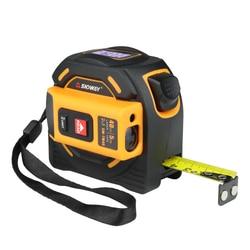SNDWAY laser distance meter range finder 40M 60M laser tape measure digital retractable 5m laser rangefinder Ruler Survey tool