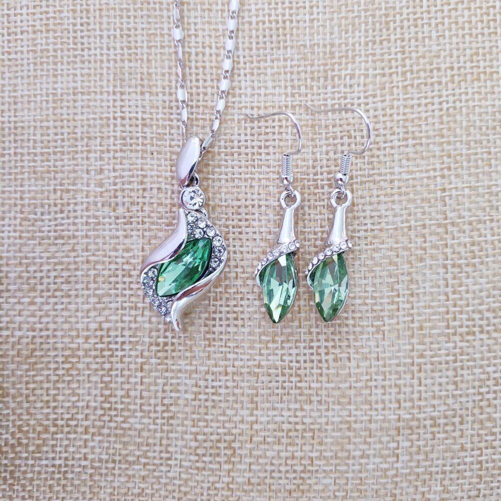 天使精灵银果绿色