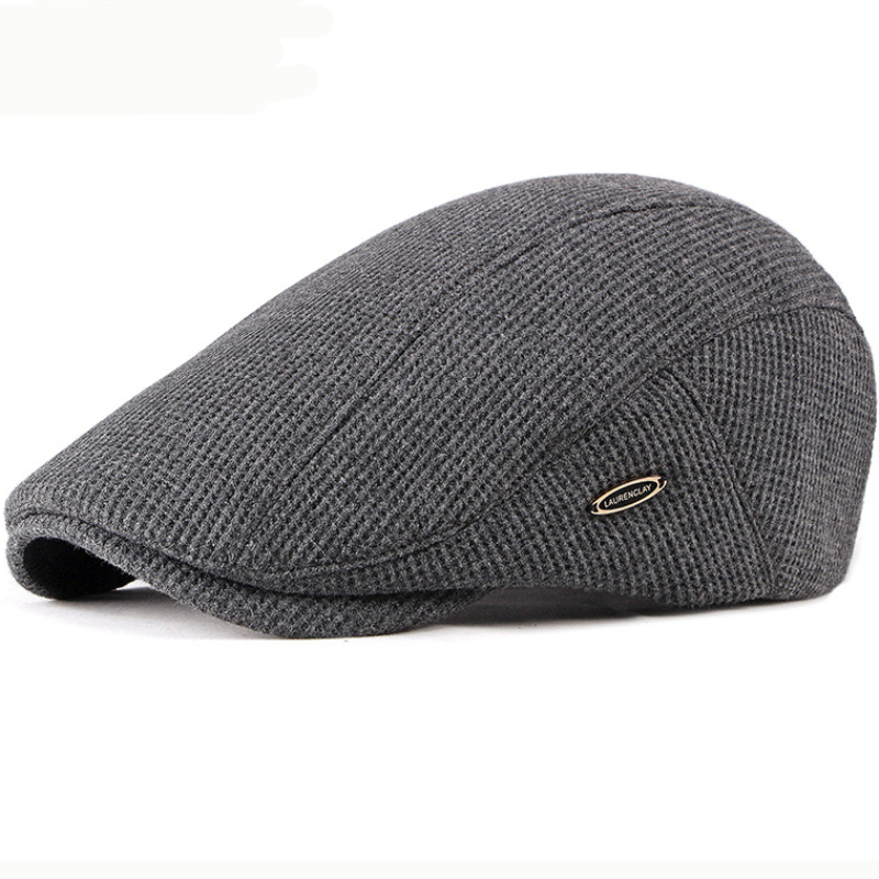 HT2646 Beret Cap New Autumn Winter Hat Caps for Men Women Adjustable Ivy Newsboy Flat Cap High Quality Solid Knitted Hat Berets title=
