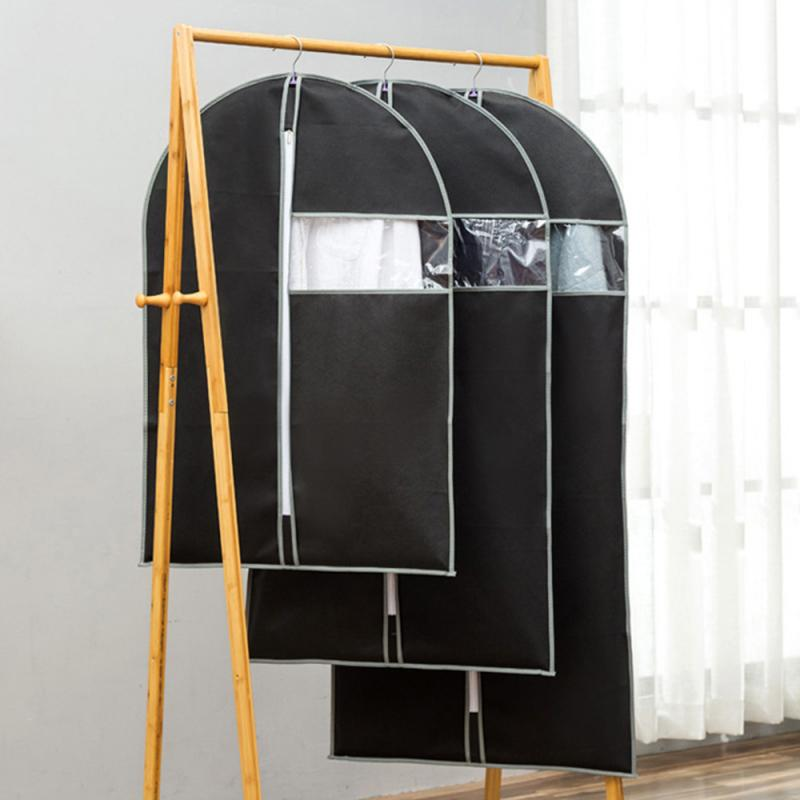 Case Suit Garment Protect-Wrap Fabric-Pack Anti-Dust-Cover Wardrobe-Organizer Storage-Bag title=