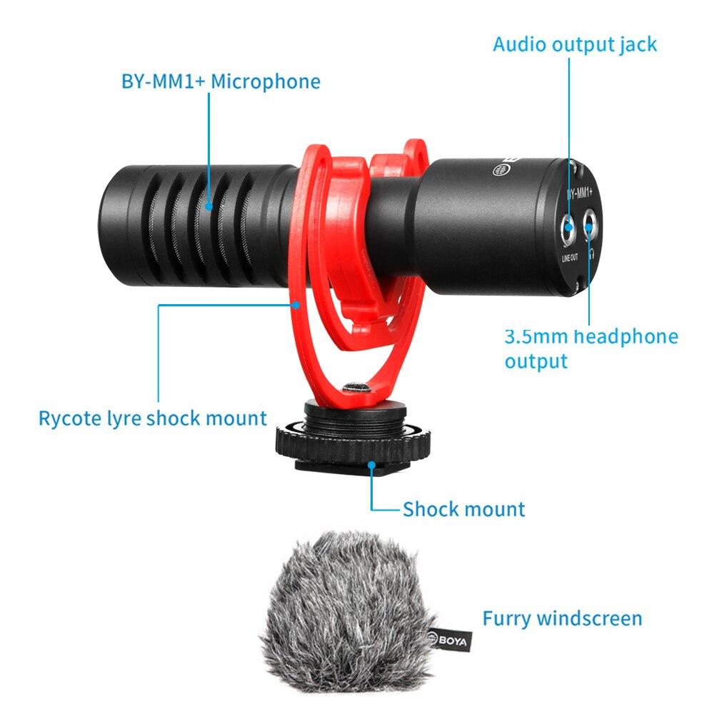 Boya BY-MM1+ Plus Shotgun Microphone 7
