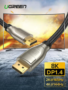 Ugreen Adapter Cable Display-Port Laptop TV 8K 4K Video 60hz for PC DP HDR 165hz