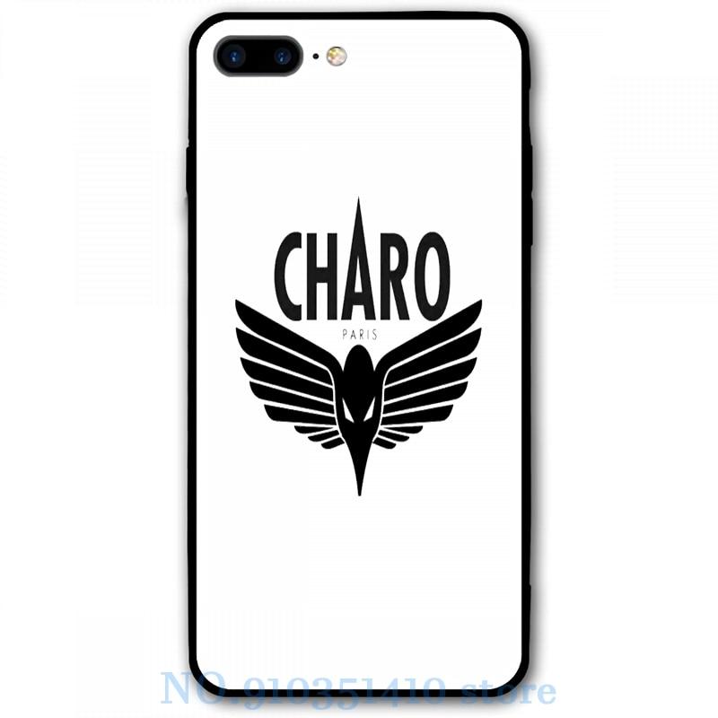 Charo - Niska Pour iPhone 12 Pro 11 X XR XS Max 8 7 6 6s Plus 5s Doux TPU Couverture Arrière En Verre