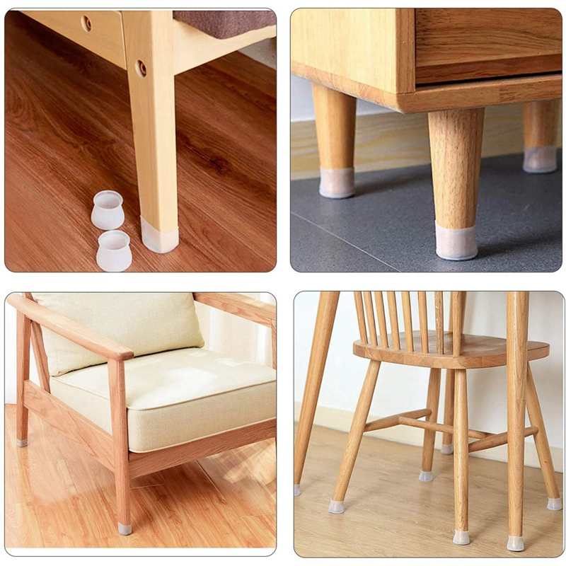 Furniture Silicon Protection Cover for Chair Legs, 40 Pcs Silicone Chair  Leg Caps Furniture Leg Protectors| | - AliExpress