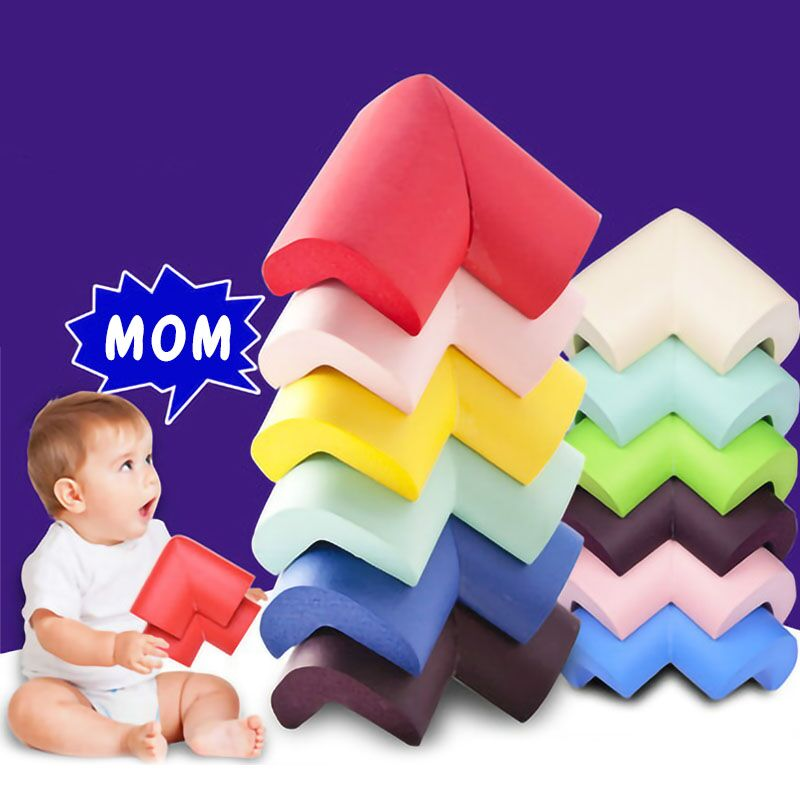 5/10pcs Home Baby Safety Corner Protector Soft Right Edge Table Furniture Corner Protection Cover for Toddler Infant