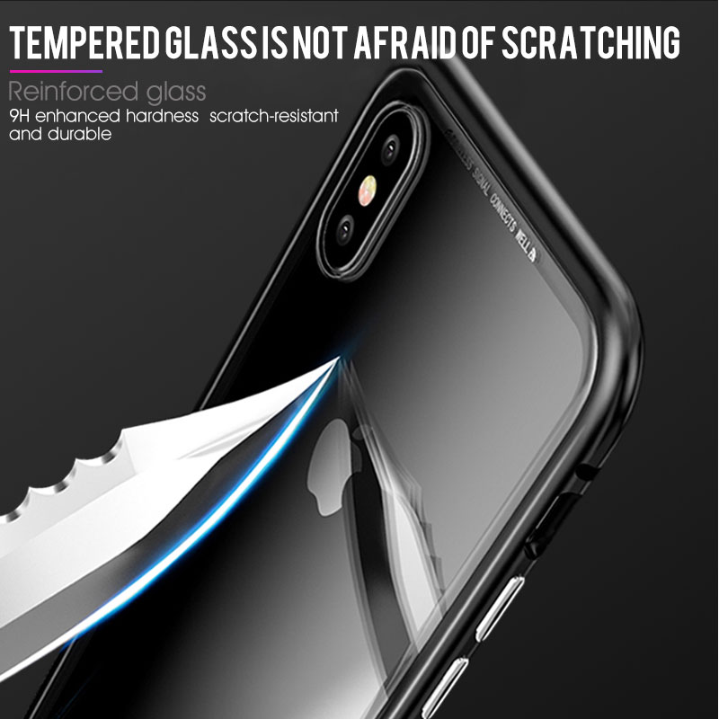 RHR-360-Metal-Magnetic-Case-For-iPhone-XR-XS-MAX-X-7-8-Plus-Magnet-Adsorption