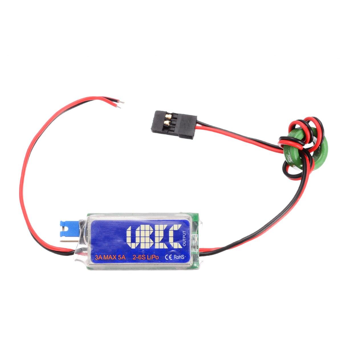 RC UBEC 5V 6V 3A Max 5A Switch Mode Lowest RF Noise BEC Kit for RC Models #*