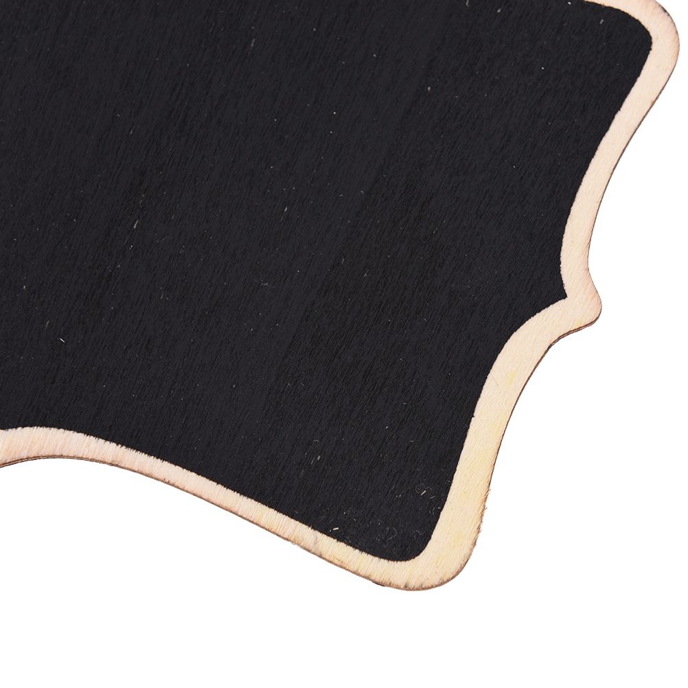 12*16*0.25cm wooden wall-mount Black board with rope/Wood Blackboard memo/Message board Decorations and Leave massages board