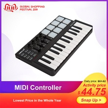 Worlde Drum-Pad Musical-Instruments Usb-Keyboard Midi-Controller Panda Mini Professional