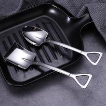 Tableware Tea-Spoon Iron-Scoop Shovel-Shape Stainless-Steel Multifunction Kitchen-Tool