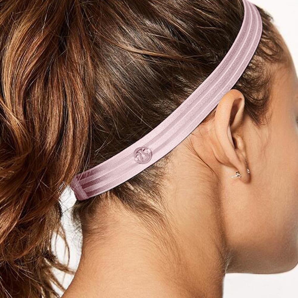 R/églable Bandeau T/ête Bandeau /éponge Bandeau antid/érapantes Jogging teniss Yoga Bandeau Cheveux Head Band Silicone pour Fitness Ceinture Sport Running
