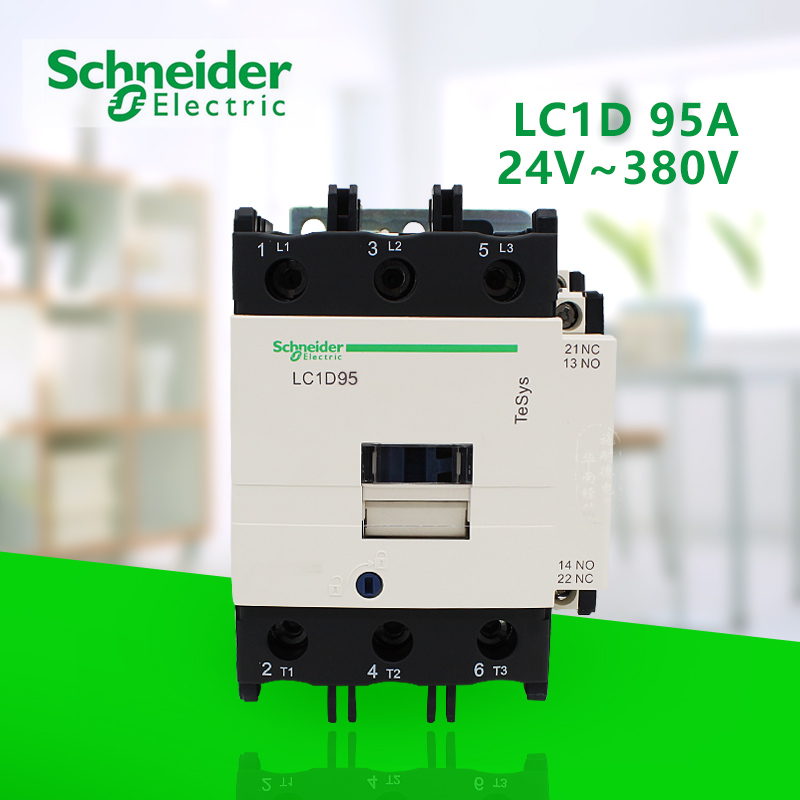 Schneider TeSys D Contactor  LC1-D95B7C Coil AC24V