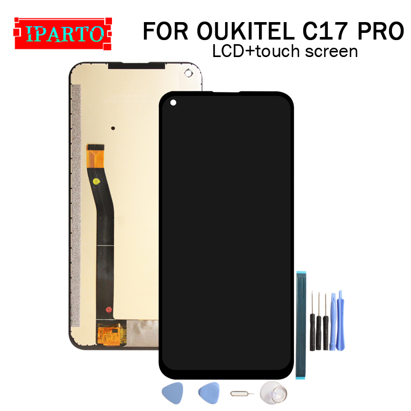 Lcd-Display Touch-Screen OUKITEL 100%Original Digitizer Assembly for C17-Pro New title=