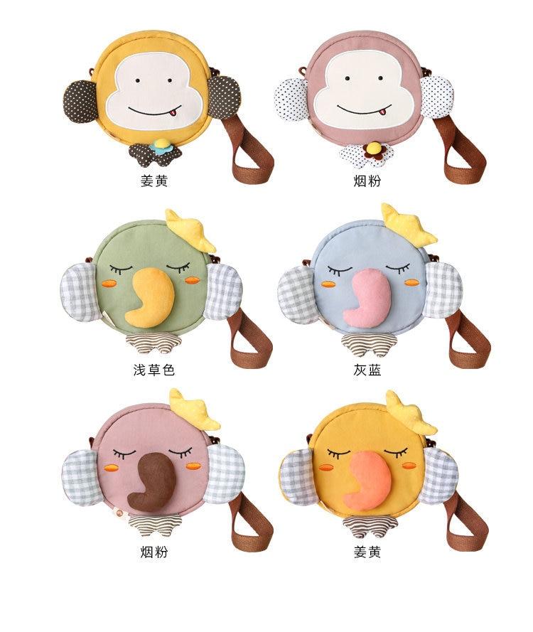 Sansebuding Bag Women/'s 2019 New Style Cute Baby Elephant Earphones Purse Japanese-style GIRL/'S Mini Shoulder Bag