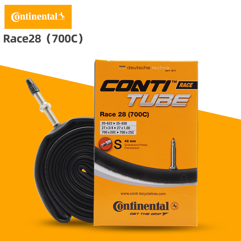 presta 20-25 10 x continental race 28 700c 42//60//80mm road inner tubes