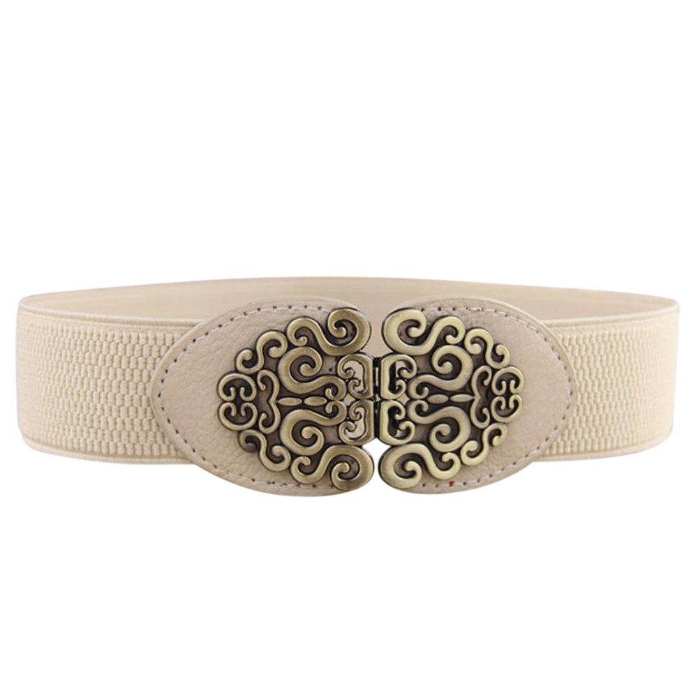 New Hot Belts Women Fashion PU Leather Cowgirl Waist Belt Pin Buckle Belt Party Dress Decor Waistband Women Belt Size 916