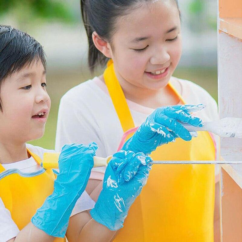 20Pcs/Box Kids Disposable Gloves Home Cleaning Gloves Garden Gloves kitchen
