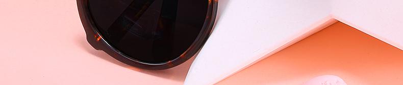 Women Sunglasses Frame Glasses Polariod Lens UV400 Polarized Sunglasses Women Fashion Round Frame Eyewear Glasses (4)