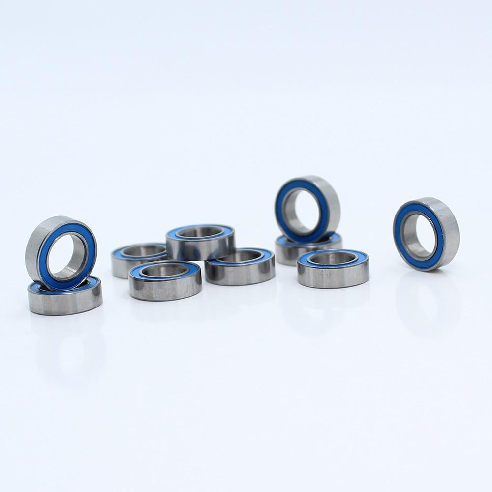 MR117-2RS 7x11x3 Miniature Ball Bearings Black Rubber Sealed Bearing 10 PCS