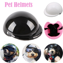 Helmets Motorcycles Protect Dog Cat for Cool Fashion Pet-Dog-Hat Plastic Safety-Ridding-Cap