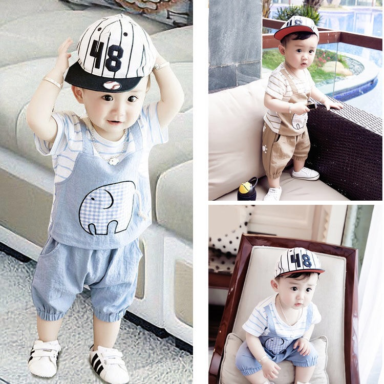Kids Boys Clothes Summer 2020 Children Boy Clothing Set Cartoon Shart T Shirt Shorts Sport Suit Outfit 1 2 3 4 5 6  Years