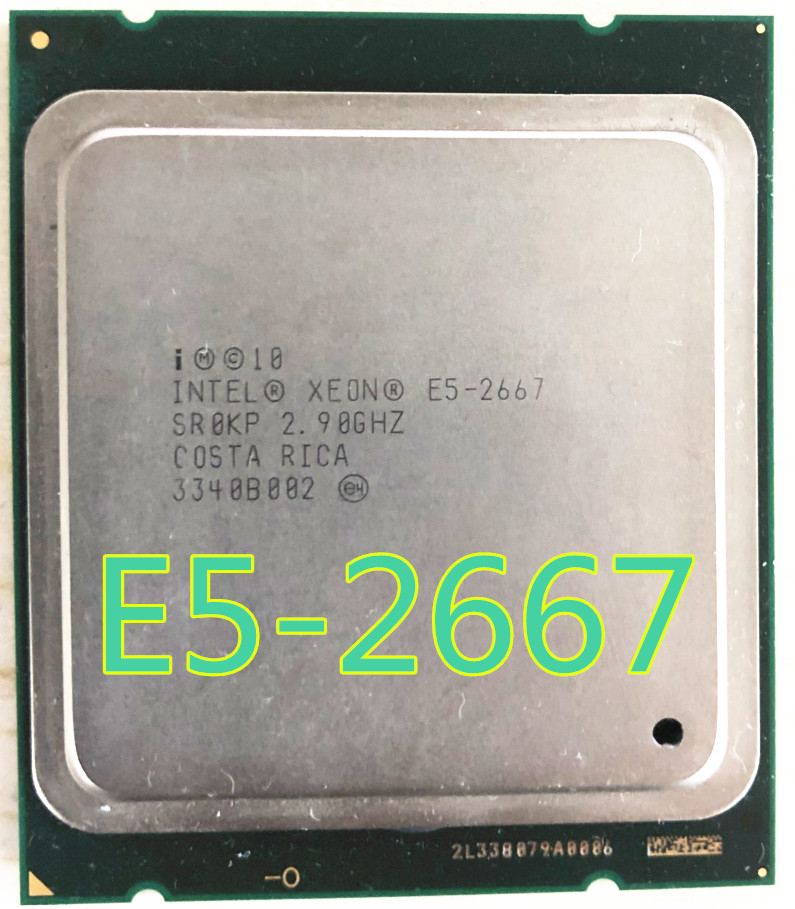 Intel Xeon Processor Server 6-Cores E5 2667 15M 8gt/S 130W title=
