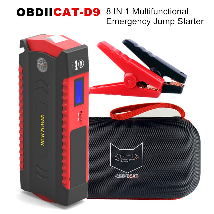 Car Jump Starter-Booster Car-Battery-Charger Power-Bank Starting-Device Buster LED 12V title=