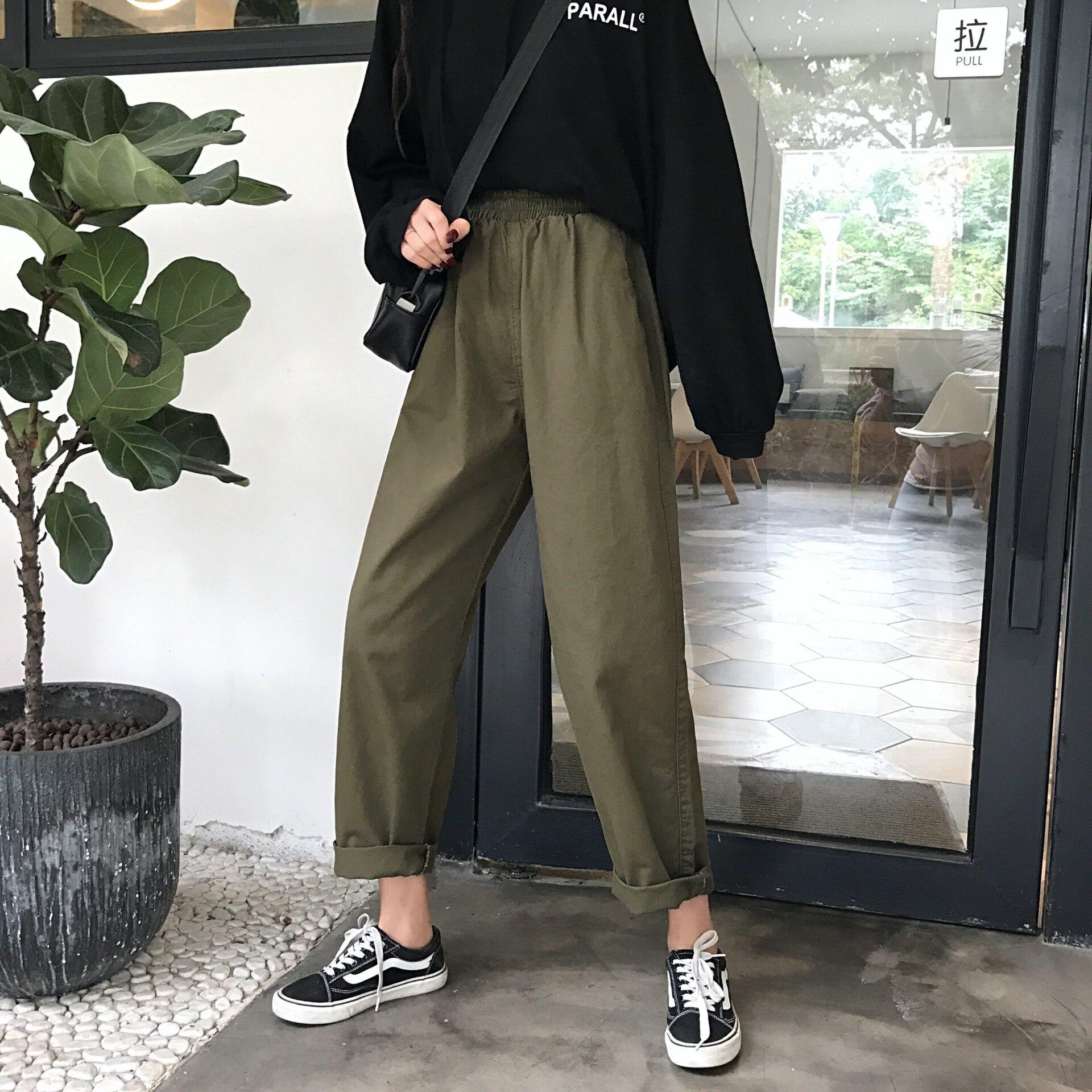 Straight Jeans Women High Waist Black Jeans Vintage Boyfriend Denim  Pants Femme 2020 Streetwear Loose Jeans