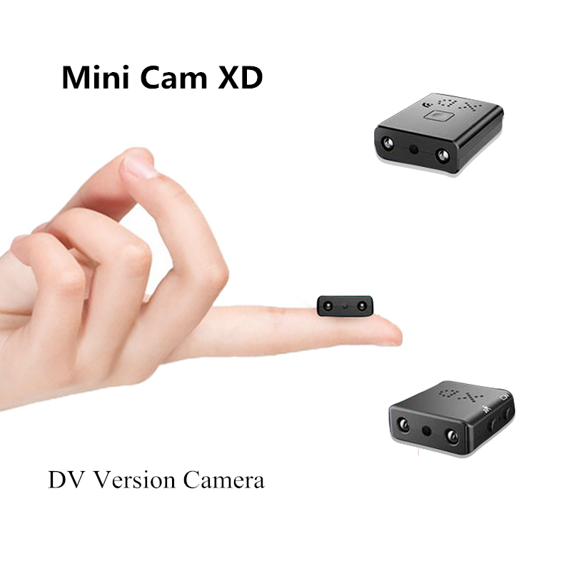Mini Camera Voice-Recorder Sd-Card Video Motion-Detection Night-Vision Sq11 Full-Hd 1080P title=