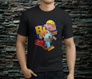 Bob The Builder Personalised Boys Girls T-Shirt Age 8 Ideal Gift//Present